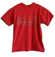 Vintage Florida 90s Single Stitch T-Shirt Red Mens Size M