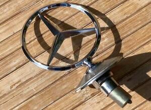 Mercedes W116 Hood Star '72-80 450SEL Ornament Emblem *OEM*