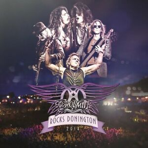 Aerosmith - Rocks Donnington 2014 - New 180g Purple Vinyl 3LP + DVD