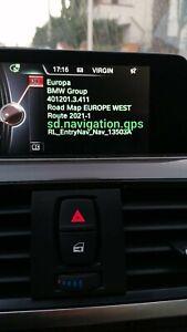MAPPE BMW ROUTE 2021-1 WEST o EST EUROPA + FSC CODE