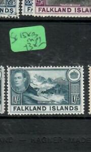 FALKLAND ISLANDS  (PP1903B)  KGVI 1/-   SG 158B      MOG