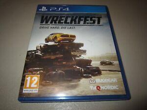 Wreckfest (PlayStation 4, 2019)