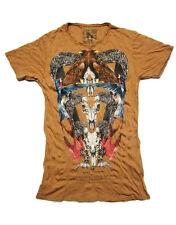 Pearly King Men's RANCHLIFE T-Shirt Brown (PKTS053)