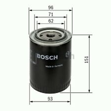 0451203012 BOSCH OIL FILTER P3012 [FILTERS - OIL] BRAND NEW GENUINE PART