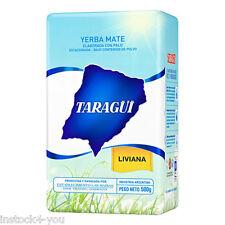 3 PACK-Yerba Mate Taragui Liviana 2.2 LB/1 Kilo