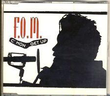 F.o.m. - C 'MON get up 4 TRK CD MAXI 1991