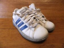 Adidas Neo White Leather Casual Trainers Size UK 11K  EUR 29