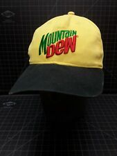 Mountain Dew Hat Snapback Yellow Green Black - Do The Dew