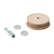 Triton TWSLHW - Whetstone Sharpener Profiled Leather Honing Wheel 230mm