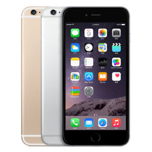 """Apple iPhone 6   Factory Unlocked 4.7"""" Smartphone Grey Gold Touch ID 4G LTE"""