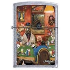 Zippo Lighter - Big game Poker Street Chrome - 852178