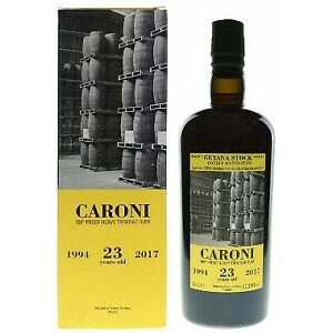 Coffret Rhum Velier Caroni Guyana stock - 1994 / 2017 - 23 ans