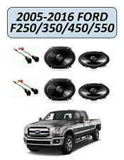 FORD F-250/350/450/550 2005-2016 Factory Speakers Replacement Kit, PIONEER