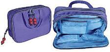 KINGSLEY Travel/Cosmetics Necessities DOPP Bag Purple Washable - Lg. TC-55 NEW
