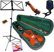 Pack Violon 1/2 (7/10 ans) 7 Accessoires Etui, Accordeur, Pupitre..