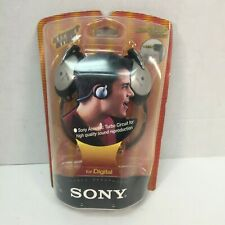 Sony Stereo Headphones MDR-G52LP Neckband Portable Audio Sealed