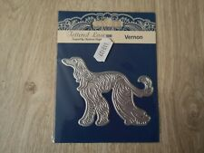 Tattered Lace Art Deco Vernon - Afghan Hound Die