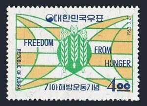 Korea South 381 block/4,MLH/MNH.Mi 377. FAO Freedom from Hunger campaign,1963.