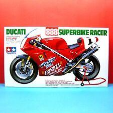Tamiya 1/12 Ducati 888 Super Bike Racer [1/12 Motorcycle Series] model kit 14063