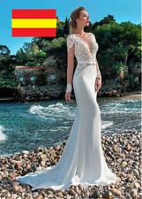 2a63049a7 Vestidos de novia sirena de encaje   Compra online en eBay