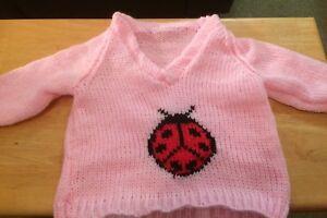 Hand Knit Baby Jumper