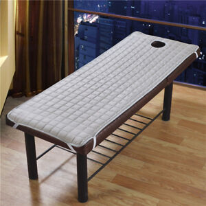 """Thicker Beauty Massage SPA Table Pad Bed Covers Sheet Mattress 71x24"""" Gray"""