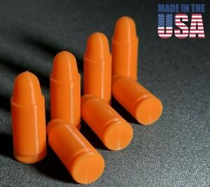 9mm Dummy Rounds, Snap Caps -- Firearms Dry Fire Ammo for Training **Made in USA
