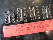 Lot of 4 Homecraft Mini Hinges Brass Vintage style Victorian Gothic Rustic Hinge