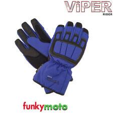 Gants de course, sport bleus pour motocyclette Homme