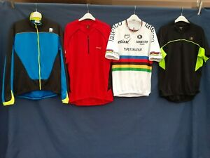 Joblot 4 x Cycling Jersey tops  Quick Dri Size 2xl  Adults top #B31