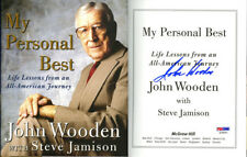 Coach John Wooden SIGNED My Personal Best HC 1st Ed PSA/DNA AUTOGRAPHED UCLA NEW