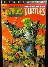 SAVAGE DRAGON / TEENAGE MUTANT NINJA TURTLES crossover #1 (1993) Mirage Comic VF
