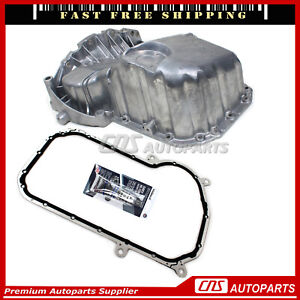 Turbo Oil Pan + Gasket RTV Silicone For 97-01 Audi A4 VW Passat 1.8L L4 DOHC