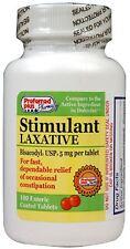 Bisacodyl stimulant laxative 5 mg tablets 100 ea (Pack of 2)