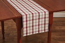 "Table Runner 54"" - Fireside by Park Designs - Christmas Holiday - Reversible"