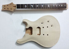 Unfinished Guitar Neck and body for PRS Replacement 24 Fret rosewood Fretboard