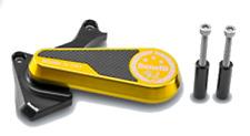 Benelli TNT 125 - Gold Engine Side Case Protection, Benelli TNT 125 Accessories