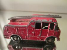 merryweather fire engine lesney made in england~