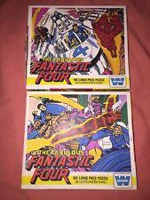 Marvel The Fabulous quatre fantastiques 180 PIECES Grand Puzzle Set de deux par Whitman