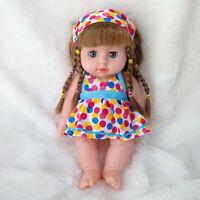 Cute Girl Dolls African American Play Dolls Lifelike 12 inch Baby Play Dolls Toy