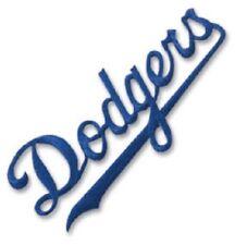 "Officially Licensed 4""x2"" EK Success DODGERS Logo Patch MLBEMB04 Baseball MLB"