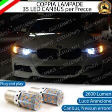 COPPIA LAMPADE PY21W BAU15S CANBUS 3.0 35 LED BMW SERIE 3 F30 FRECCE ANTERIORI
