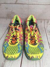 Asics Gel Noosa Tri Women's 7.5 Swim Bike Run Athletic Shoe Sneaker Multi Color