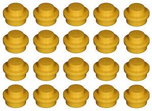 Lego Brick 4073 Yellow x 20 Plate 1 x 1 Round