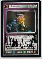 Autographed Star Trek CCG 1E Mirror the Intendant (Nana Visitor) v0129