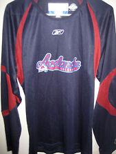 NWT Colorado Avalanche NHL Center Ice Reebok CCM Dri-Fit Men's LG LS Logo Shirt