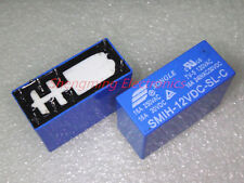 10PCS 8pins SMIH-12VDC-SL-C DC 12V 16A 250VAC Power Relay
