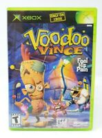 Voodoo Vince Microsoft Xbox Original Game