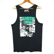 Green Day 21st Century Breakdown Mens Singlet Size Medium Black