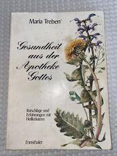Heilkräuter aus dem Garten Gottes von Maria Treben (1986, Taschenbuch)